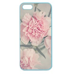 Cloves Flowers Pink Carnation Pink Apple Seamless Iphone 5 Case (color) by Amaryn4rt