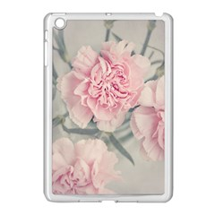 Cloves Flowers Pink Carnation Pink Apple Ipad Mini Case (white) by Amaryn4rt