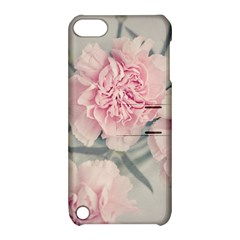Cloves Flowers Pink Carnation Pink Apple Ipod Touch 5 Hardshell Case With Stand by Amaryn4rt