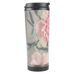 Cloves Flowers Pink Carnation Pink Travel Tumbler by Amaryn4rt