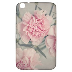 Cloves Flowers Pink Carnation Pink Samsung Galaxy Tab 3 (8 ) T3100 Hardshell Case  by Amaryn4rt