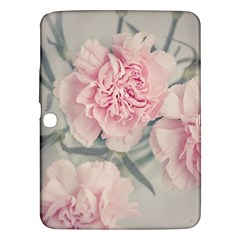 Cloves Flowers Pink Carnation Pink Samsung Galaxy Tab 3 (10 1 ) P5200 Hardshell Case  by Amaryn4rt