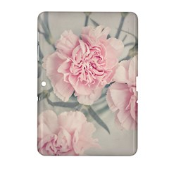 Cloves Flowers Pink Carnation Pink Samsung Galaxy Tab 2 (10 1 ) P5100 Hardshell Case  by Amaryn4rt
