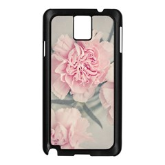 Cloves Flowers Pink Carnation Pink Samsung Galaxy Note 3 N9005 Case (black) by Amaryn4rt