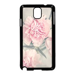 Cloves Flowers Pink Carnation Pink Samsung Galaxy Note 3 Neo Hardshell Case (black) by Amaryn4rt