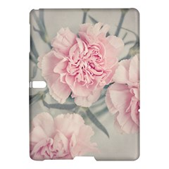 Cloves Flowers Pink Carnation Pink Samsung Galaxy Tab S (10 5 ) Hardshell Case  by Amaryn4rt