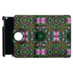 Digital Kaleidoscope Apple Ipad 2 Flip 360 Case by Amaryn4rt