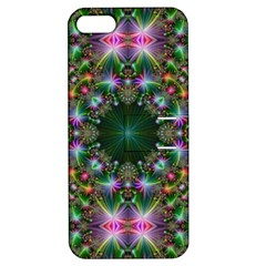 Digital Kaleidoscope Apple Iphone 5 Hardshell Case With Stand by Amaryn4rt
