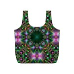 Digital Kaleidoscope Full Print Recycle Bags (S)  Back