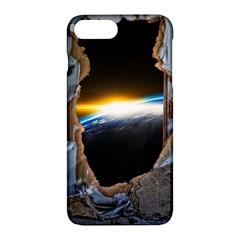 Door Breakthrough Door Sunburst Apple iPhone 7 Plus Hardshell Case by Amaryn4rt