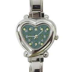 Repeat Heart Italian Charm Watch by Jojostore
