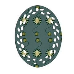 Repeat Ornament (Oval Filigree)  by Jojostore