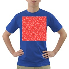 Red Alphabet Dark T Shirt by Jojostore