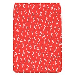 Red Alphabet Flap Covers (s)  by Jojostore