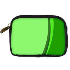 Simple Green Digital Camera Cases by Jojostore