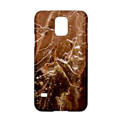 Ice Iced Structure Frozen Frost Samsung Galaxy S5 Hardshell Case  by Amaryn4rt
