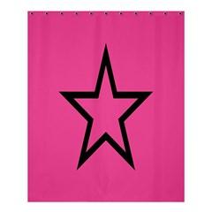 Star Shower Curtain 60  X 72  (medium)  by Jojostore