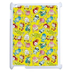 Robot Cartoons Apple Ipad 2 Case (white)