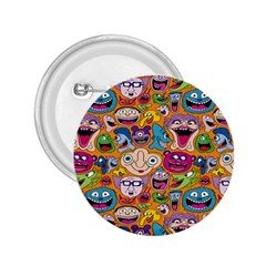 Smiley Pattern 2 25  Buttons