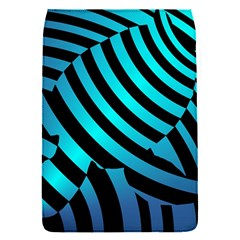 Turtle Swimming Black Blue Sea Flap Covers (s)  by Jojostore
