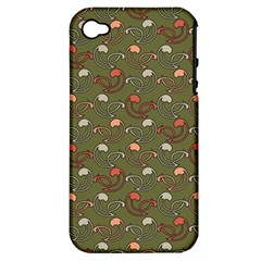 Tumblr Static Final Colour Apple Iphone 4/4s Hardshell Case (pc+silicone) by Jojostore