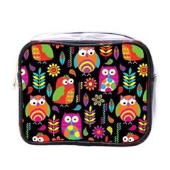 Ultra Soft Owl Mini Toiletries Bags by Jojostore