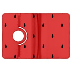 Watermelon Seeds Red Kindle Fire Hdx Flip 360 Case by Jojostore