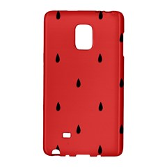 Watermelon Seeds Red Galaxy Note Edge by Jojostore