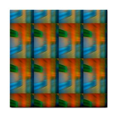 Wall Of Colour Duplication Tile Coasters by Jojostore