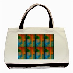 Wall Of Colour Duplication Basic Tote Bag (two Sides) by Jojostore