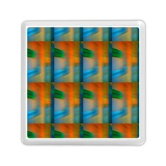 Wall Of Colour Duplication Memory Card Reader (square)  by Jojostore