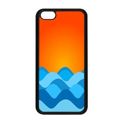 Water Orange Apple Iphone 5c Seamless Case (black) by Jojostore