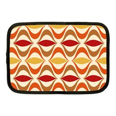 Wave Orange Red Yellow Rainbow Netbook Case (medium)  by Jojostore