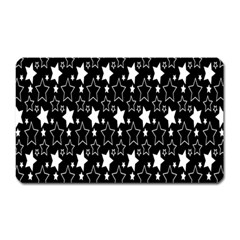 White Star Magnet (rectangular) by Jojostore