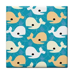 Whole Sea Animals Face Towel by Jojostore