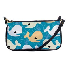 Whole Sea Animals Shoulder Clutch Bags by Jojostore
