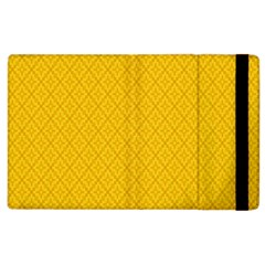 Yellow Flower Apple Ipad 3/4 Flip Case by Jojostore