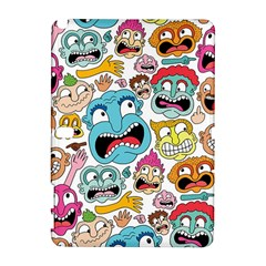 Weird Faces Pattern Galaxy Note 1 by Jojostore