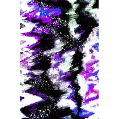 Abstract Canvas Acrylic Digital Design 5 5  X 8 5  Notebooks by Amaryn4rt