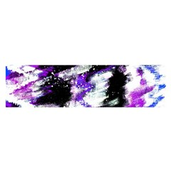 Abstract Canvas Acrylic Digital Design Satin Scarf (oblong) by Amaryn4rt