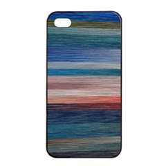Background Horizontal Lines Apple Iphone 4/4s Seamless Case (black) by Amaryn4rt