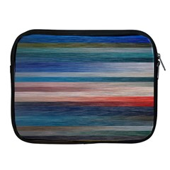 Background Horizontal Lines Apple Ipad 2/3/4 Zipper Cases