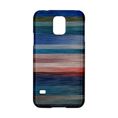 Background Horizontal Lines Samsung Galaxy S5 Hardshell Case  by Amaryn4rt