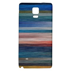 Background Horizontal Lines Galaxy Note 4 Back Case by Amaryn4rt