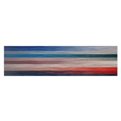 Background Horizontal Lines Satin Scarf (oblong)