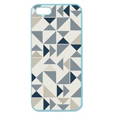 Geometric Triangle Modern Mosaic Apple Seamless Iphone 5 Case (color) by Amaryn4rt