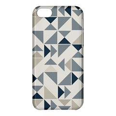 Geometric Triangle Modern Mosaic Apple Iphone 5c Hardshell Case by Amaryn4rt
