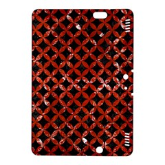 Circles3 Black Marble & Red Marble Kindle Fire Hdx 8 9  Hardshell Case by trendistuff