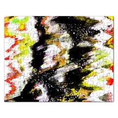 Canvas Acrylic Digital Design Art Rectangular Jigsaw Puzzl by Amaryn4rt