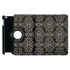 Line Geometry Pattern Geometric Apple Ipad 2 Flip 360 Case by Amaryn4rt